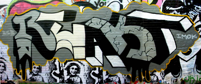 image, drunkenfist.com  React Graffiti Wall @ Central Square 2009